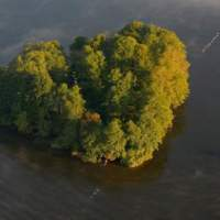 Heart-shaped Islands