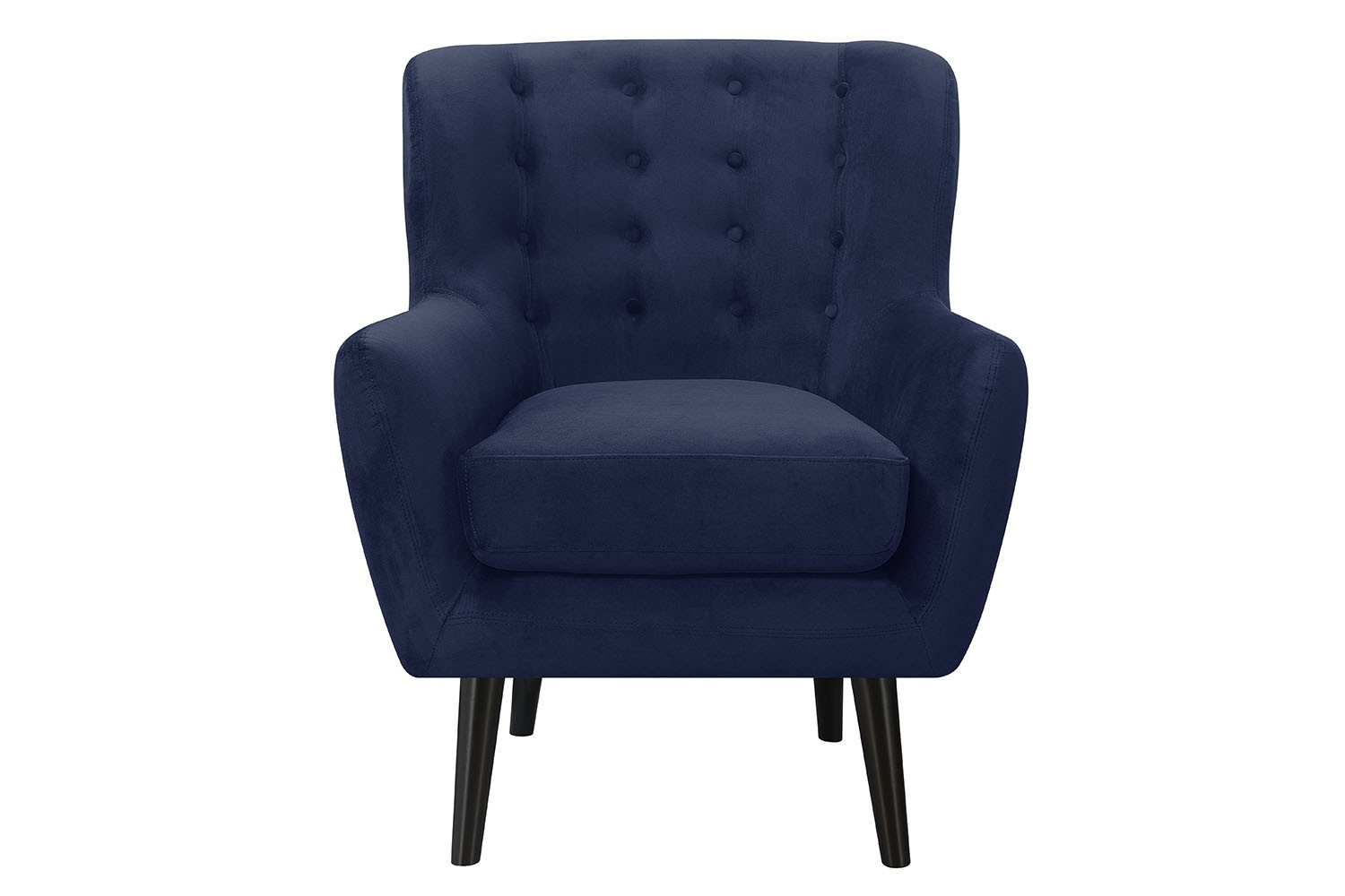 Navy Accent Chair Lucy Accent Chair In Navy Mor Furniture For Less