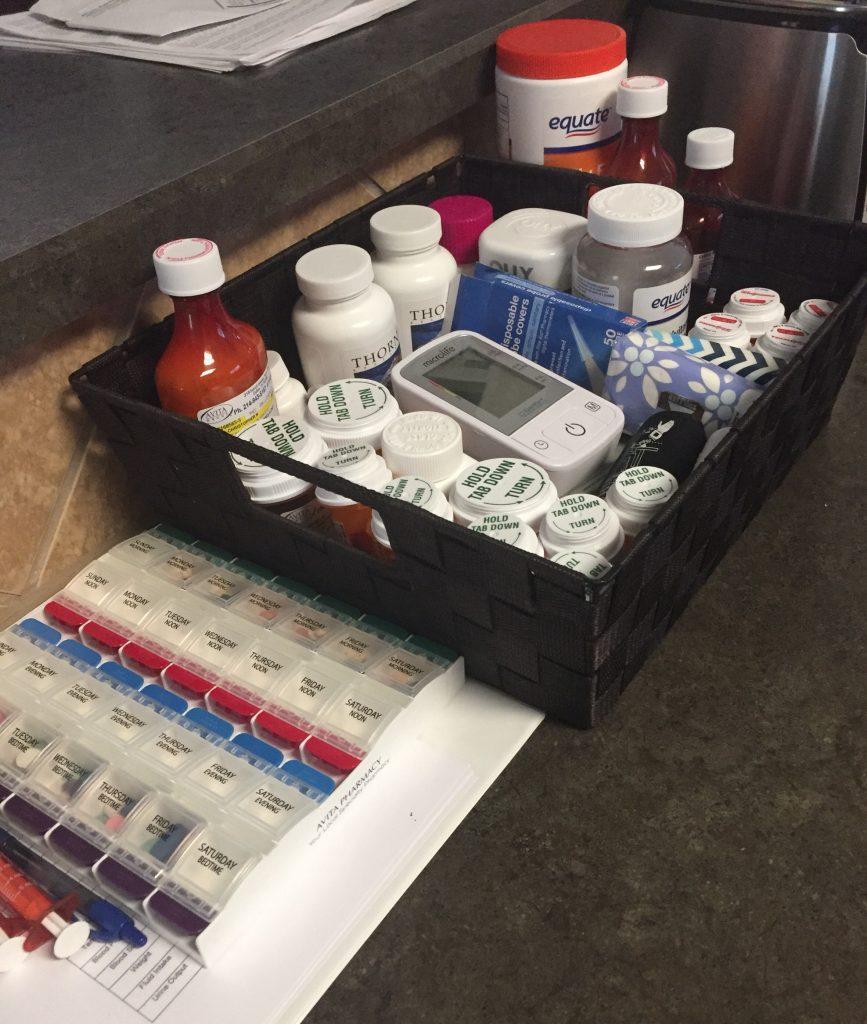 Medicine Organized - Authentically Amanda - www.mandamorgan.com
