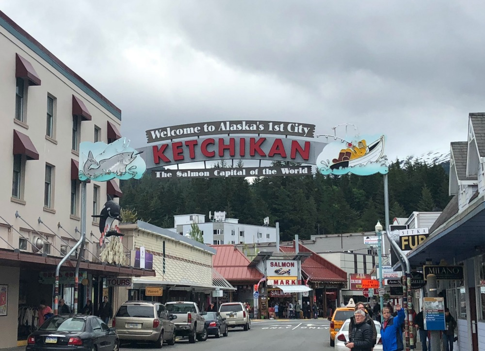 Alaskan Cruise - Ketchikan - www.mandamorgan.com