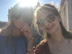 Much sun in Vatican City