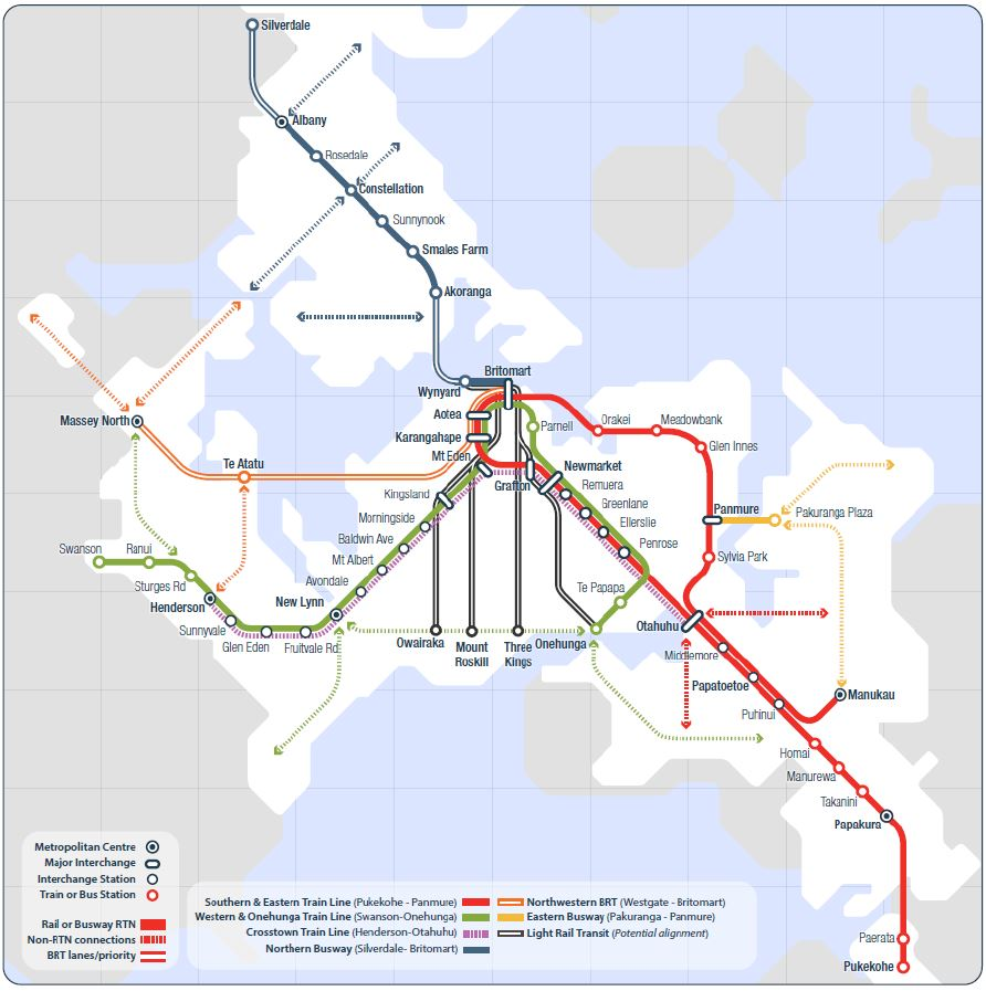 Light rail, Auckland's future