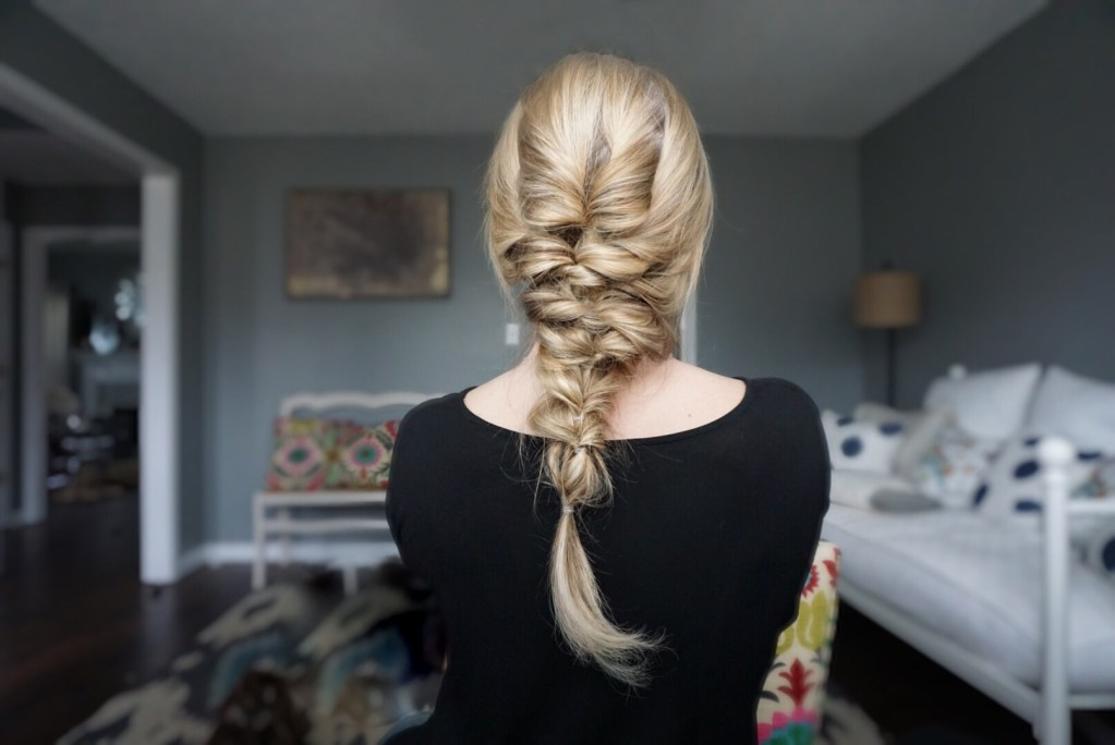 Faux Fishtail Braid: Hair Tutorial