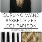 Curling Wand Barrel Sizes Comparison