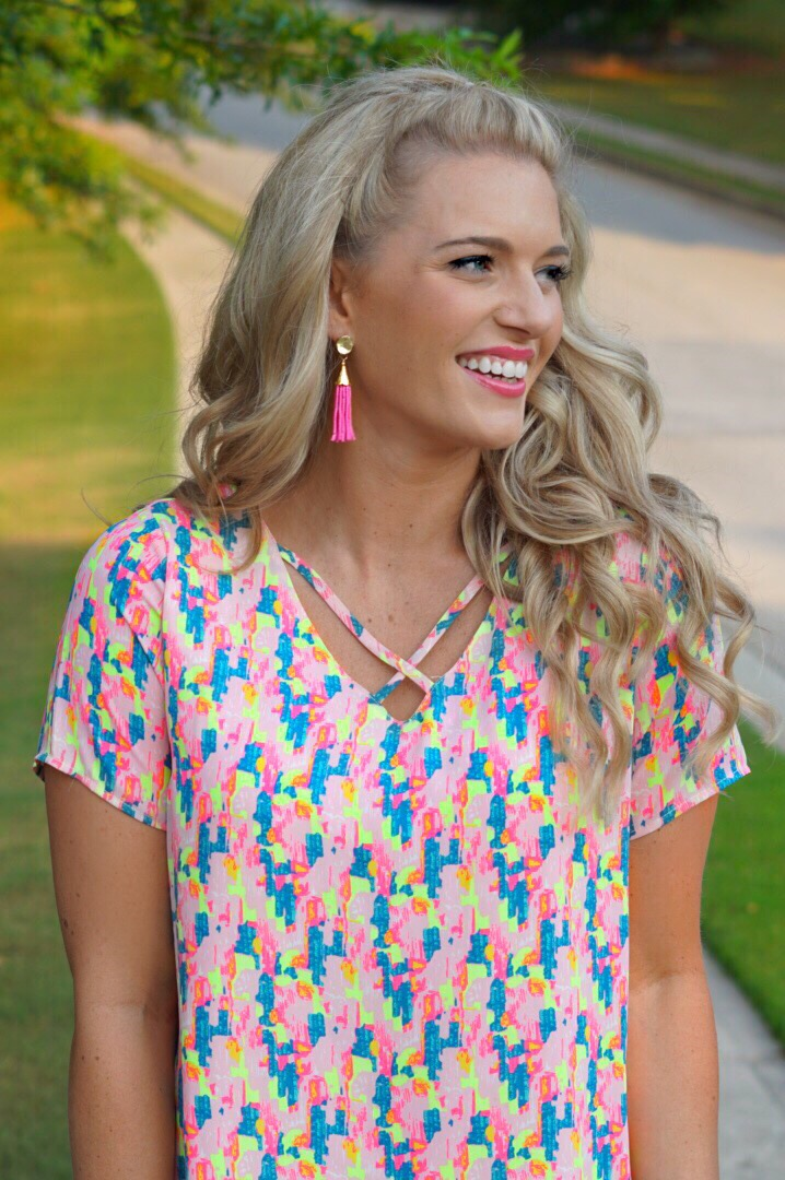 Confetti Criss Cross Dress - Buddy Love