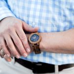 Men's Spring Style: Gingham + a Cool Watch