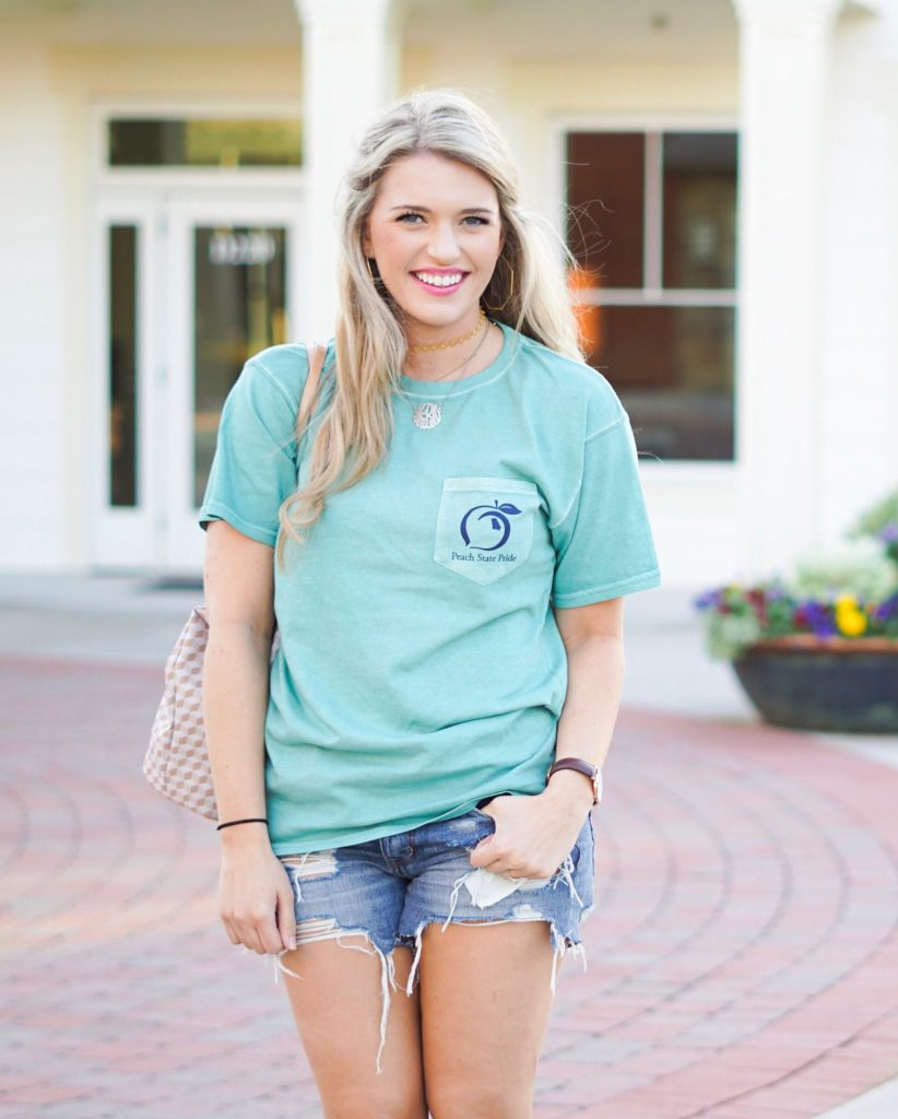His & Hers: Casual Spring Style with Peach State Pride
