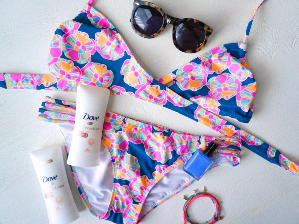 Sharing Spring Break Beauty Secrets: Dove Advanced Care