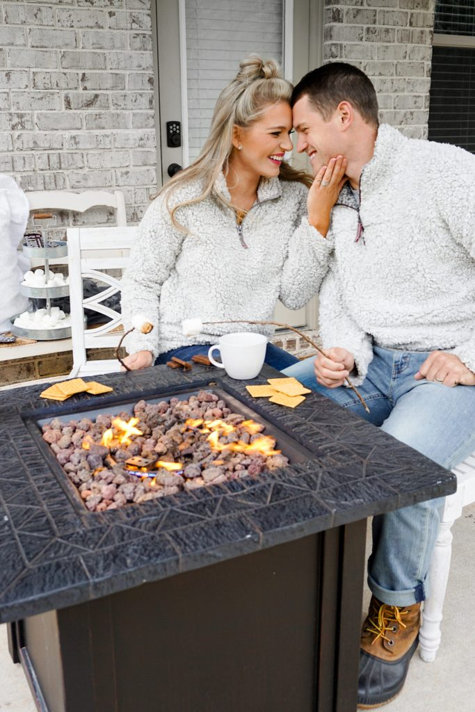 5 Fall At-Home Date Night Ideas: ft. His + Hers Sherpa