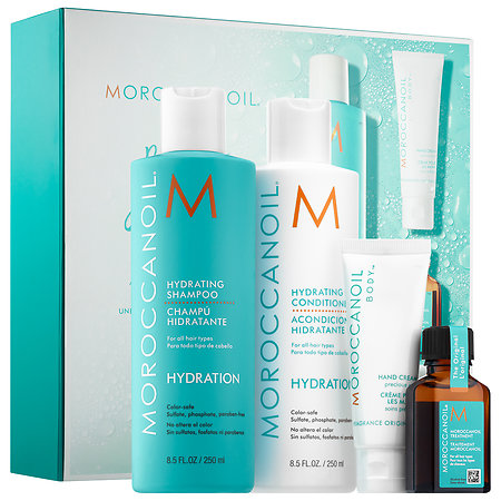 MOROCCANOIL Ready, Set, Hydrate gift set sephora