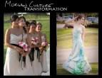 Morgan Culture Gown transformation 2