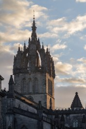 Clocher de la cathédrale Saint Gilles