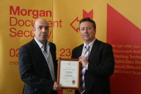 Green Dragon safe and sound at Morgan Document Security