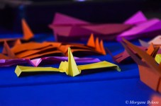UAL Family Day: Paper Airplane Man