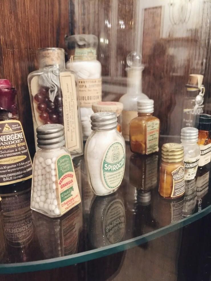 La plus vieille pharmacie d'Europe regorge de belles surprises...