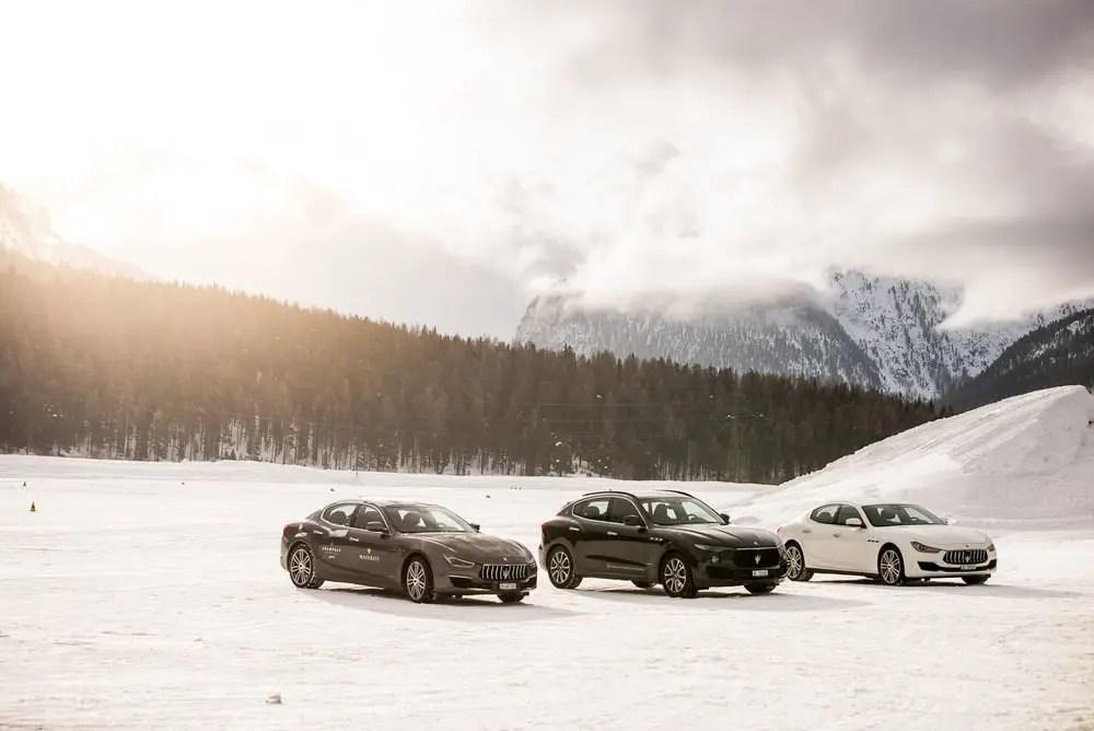 J'ai conduit une Maserati sur la neige et voici ce qu'il s'est passé.... 7