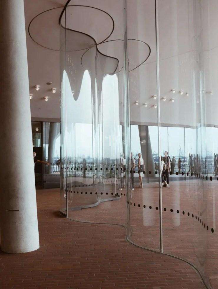 A l'intérieur du Elbphilharmonie