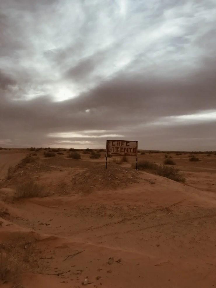 Café désert tunisien