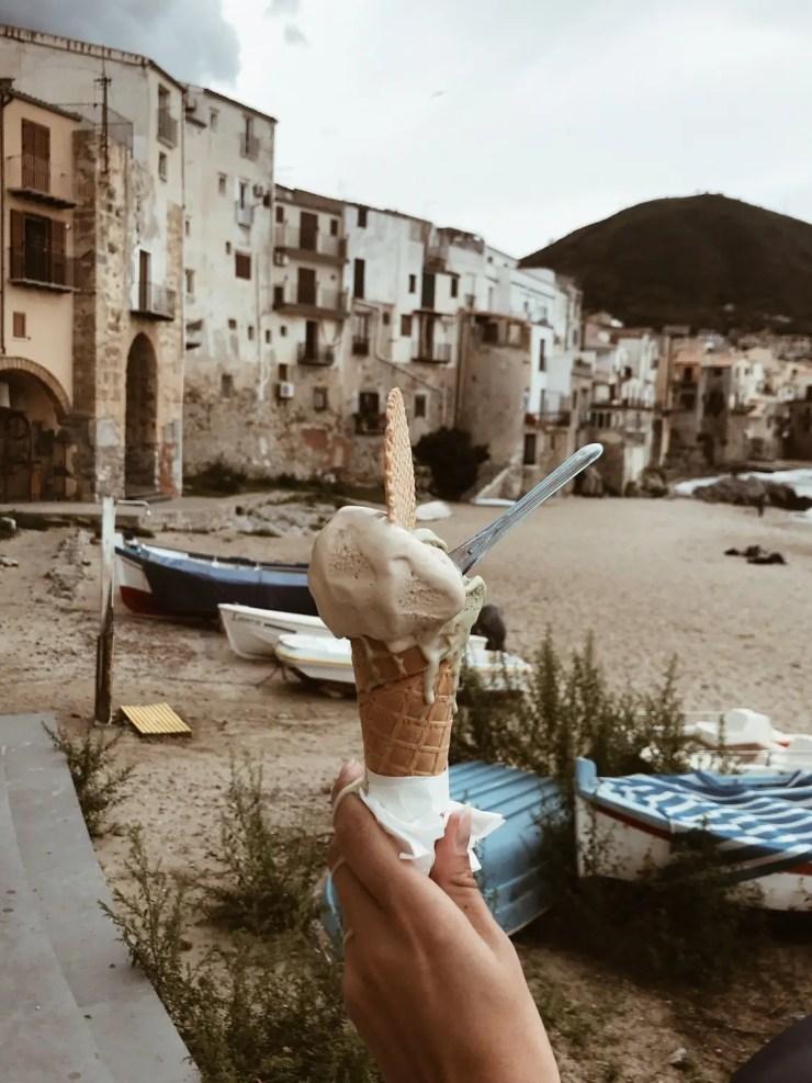 Cefalu pistacchio gelato