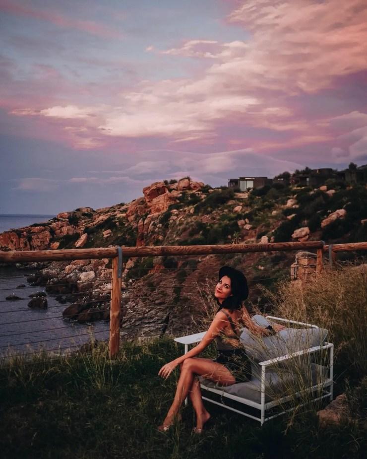 Morgane Schaller coucher de soleil Cefalu Club Med