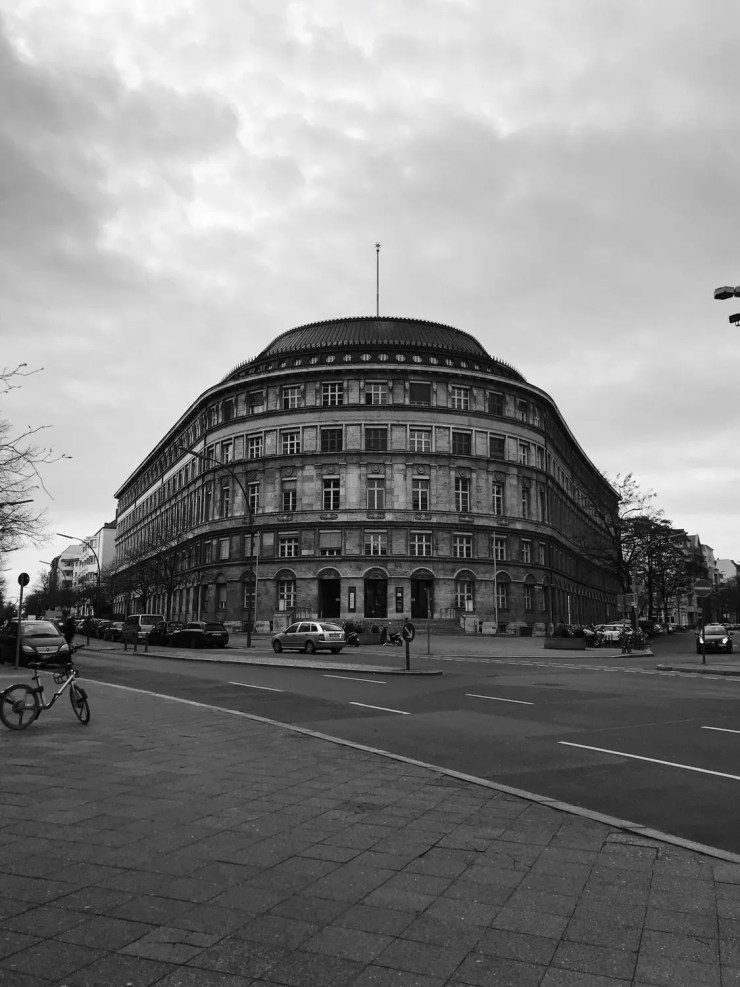 Schoeneberg Berlin black and white