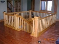 Timber Frame Staircases