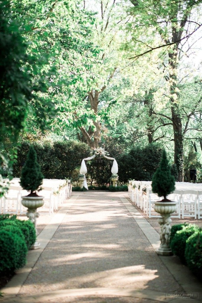 Ceremony Site at Riverwood Mansion