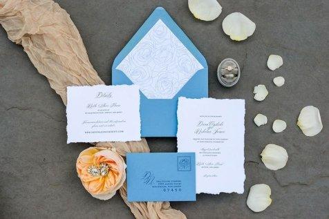 Custom Wedding Invitations   Phoenix and Scotsdale