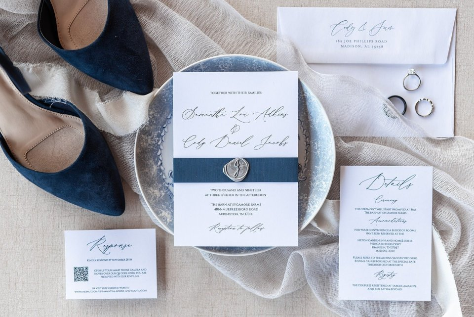 Wedding Details for Samantha and Cody