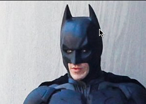 Bale's batman is the one Kat wants.