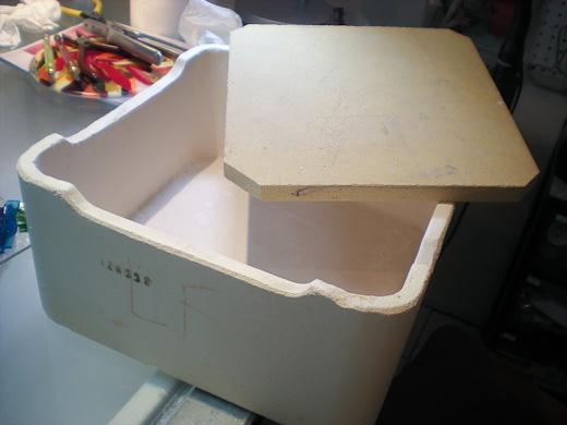 saggar mold box