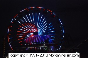 Ferris Wheel in Santa Monica - Morgan took this picture in July of 2011 just before she went home in August when her stalking started