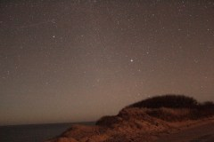 whitecrest beach in wellfleet, ma | one of my first times working with long exposures