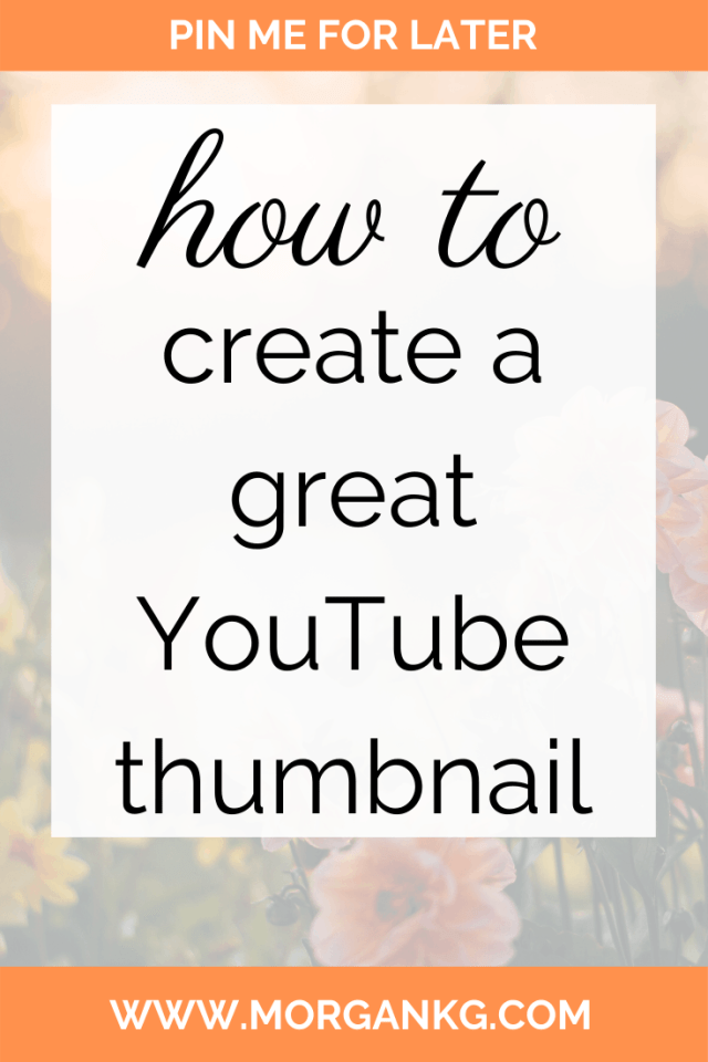 Do you need to spice up your youtube thumbnails? If you need some great youtube thumbnail ideas or want to improve your youtube thumbnail aesthetic, look no further! This article focuses on how to make youtube thumbnails, how to create a youtube thumbnail theme and even provides youtube thumbnail examples. Go ahead and click over to the article if you are looking for youtube thumbnail tips to enhance your creative!