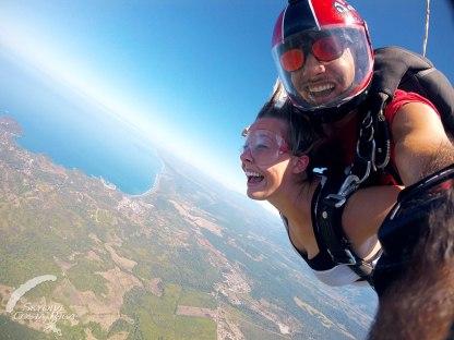 Skydiving in Manuel Antonio