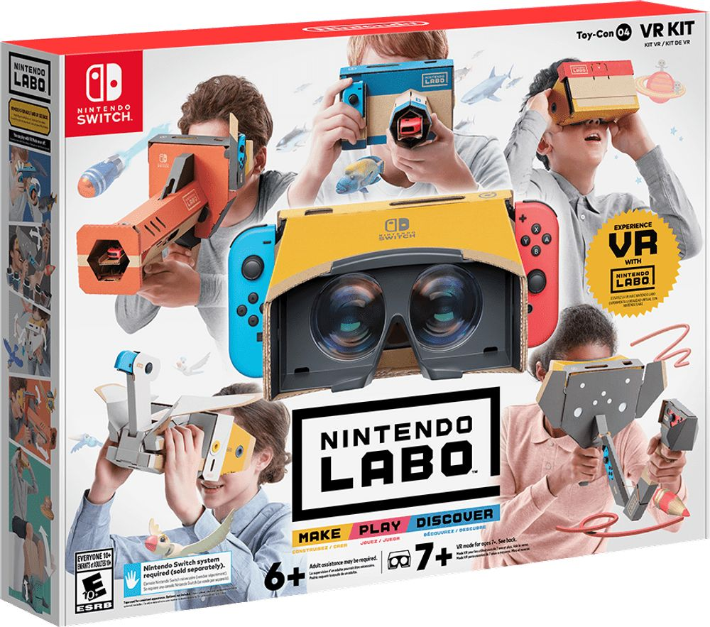NINTENDO SWITCH to Get NEW LABO KIT for VR PLAY