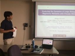 Hidetomo Nabeshima was chairing my Invited talk at Yamanashi University. Thanks to him!