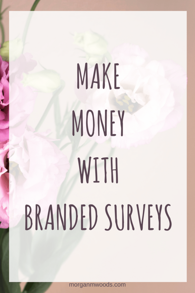 Make money with Branded Surveys