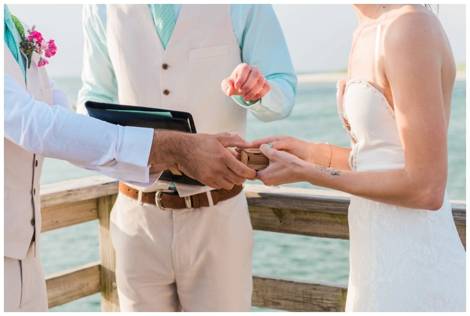 bass hole boardwalk wedding
