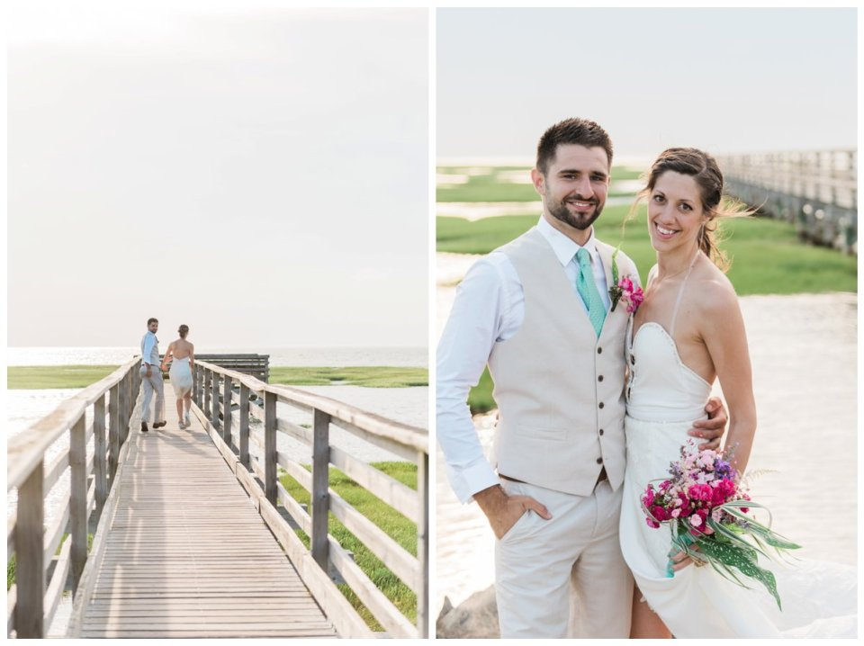 gray's beach yarmouth wedding