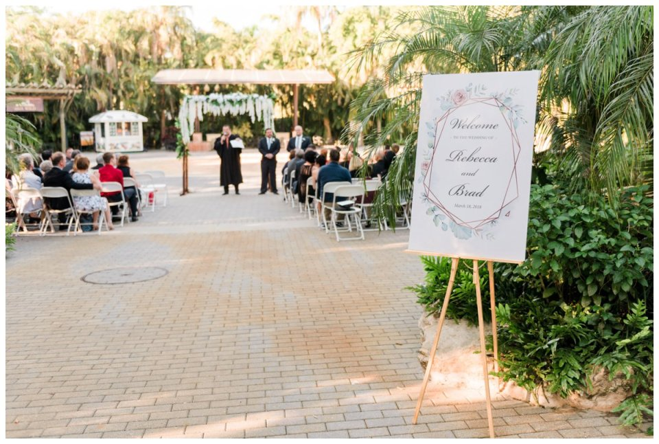 decor for palm beach zoo wedding