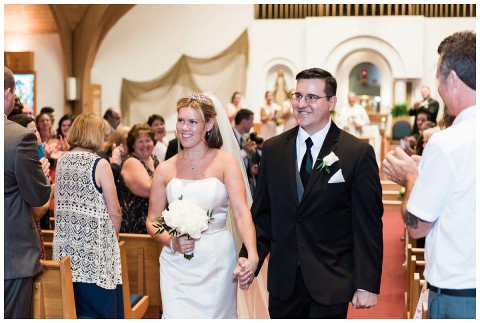 Duxbury wedding holy family church