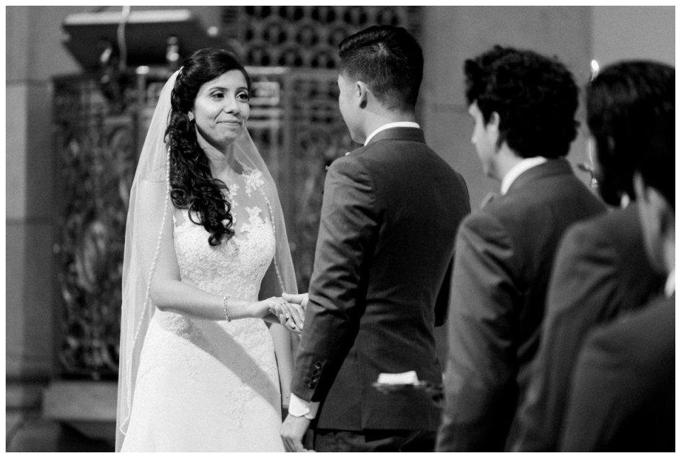 holy cross wedding ceremony photos