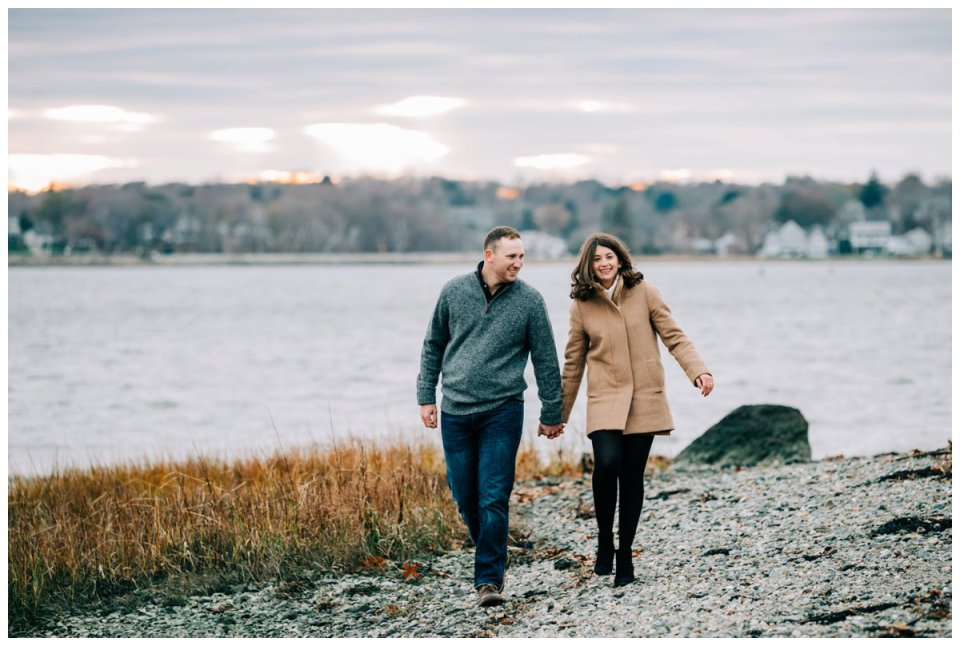 Boston engagement session locations- World's End