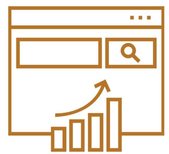 icone services webmarketing Référencement naturel SEO