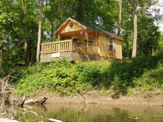 riverside cabins campground cabin wallpapers