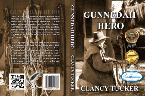 Gunnedah Hero Paperback Cover With Seal