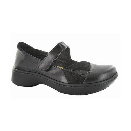 Naot Adriatic Black Leather