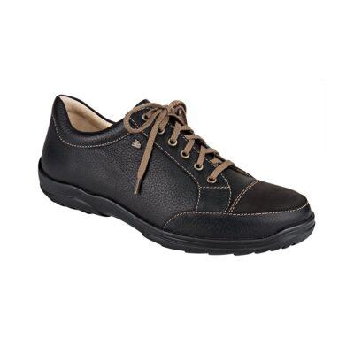 Alamo Black Bison Leather