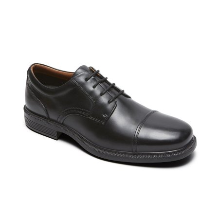 DresSports Luxe Cap Toe Oxford Black